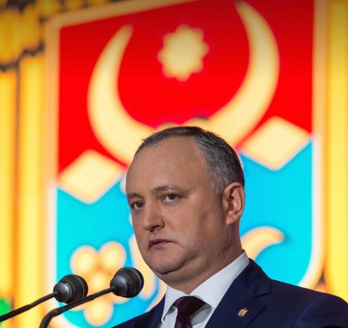 Dodon Igor, preşedintele R. Moldova