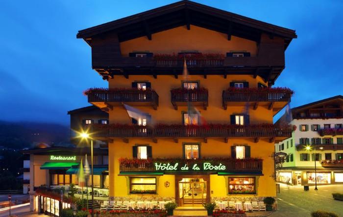 "Hotelul ""De La Poste"", din Cortina d'Ampezzo, Italia"