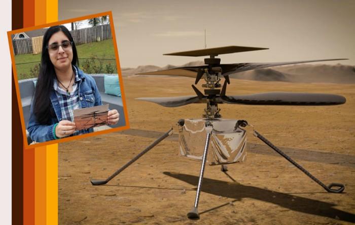 Vaneeza Rupani alege numele elicopterului care va zbura pe Marte: Ingenuity