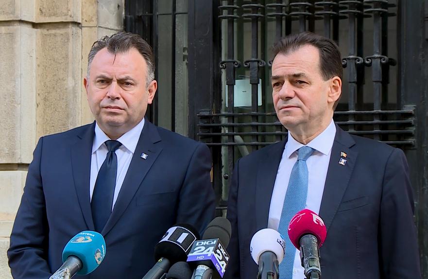Ludovic Orban si Nelu Tataru