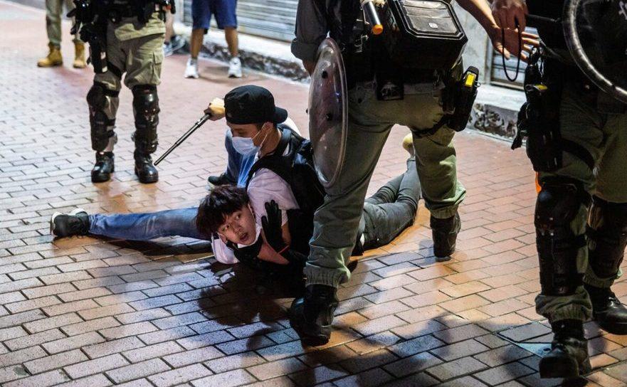 Noi proteste în Hong Kong, 10 mai 2020