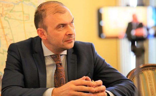 Felix Borcean, primarul municipiului Caransebeş