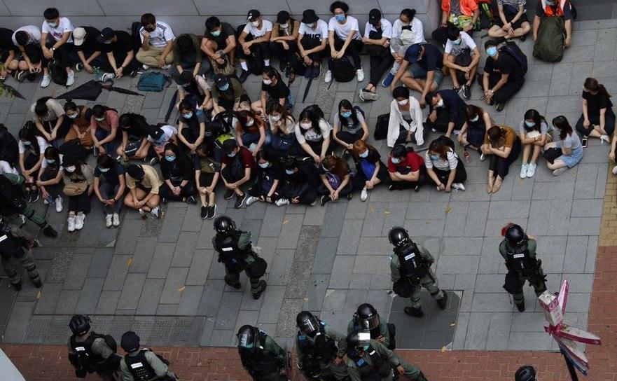 Arestări în Hong Kong, 27 mai 2020