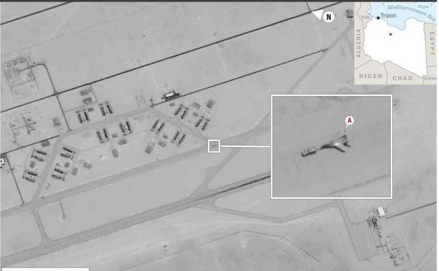 Avioane ruseşti în Libia