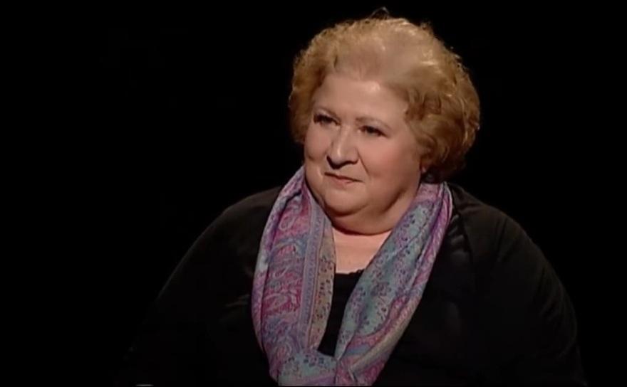 Actriţa Dorina Lazăr