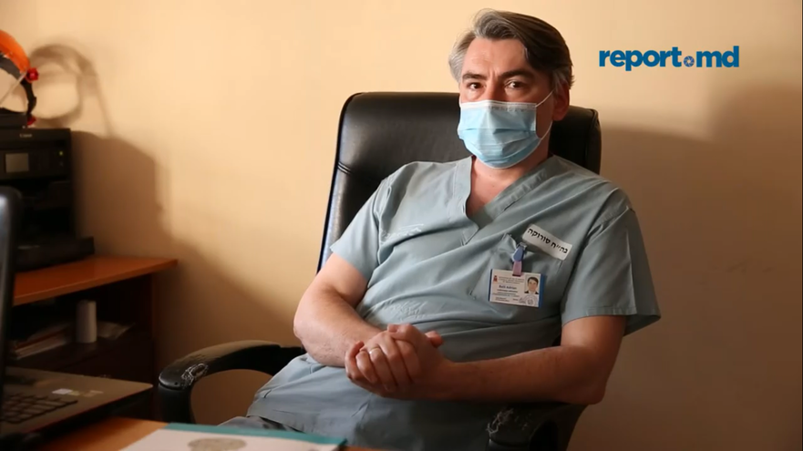 Adrian Belîi,şeful Departamentului Anestezie şi Terapie Intensivă de la Institutul de Medicină Urgentă