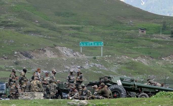 Trupe indiene în regiunea Ladakh