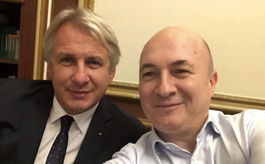 Codrin Şrefănescu şi Eugen Teodorovici
