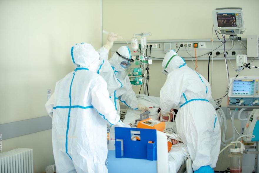 Departamentul ATI de la Spitalului Clinic Republican, tratarea coronavirusului
