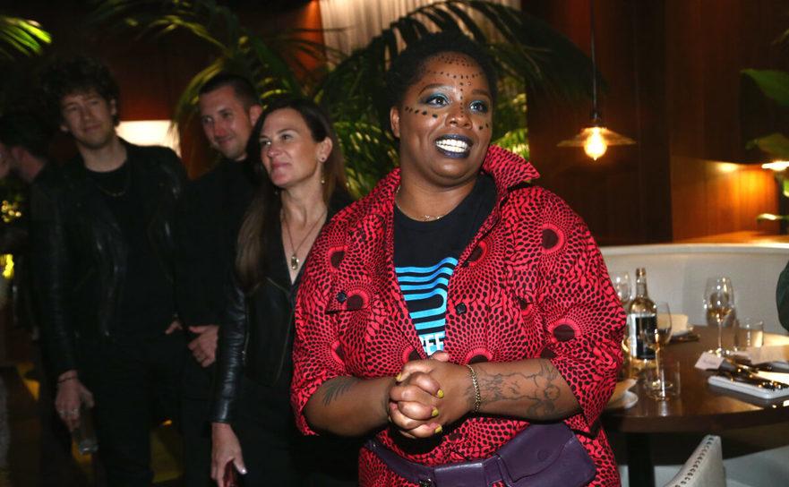Patrisse Cullors, fondator al grupului Black Life Matters pe 13 februarie 2020.