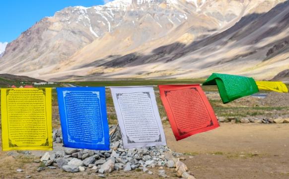 Steaguri tibetane sacre