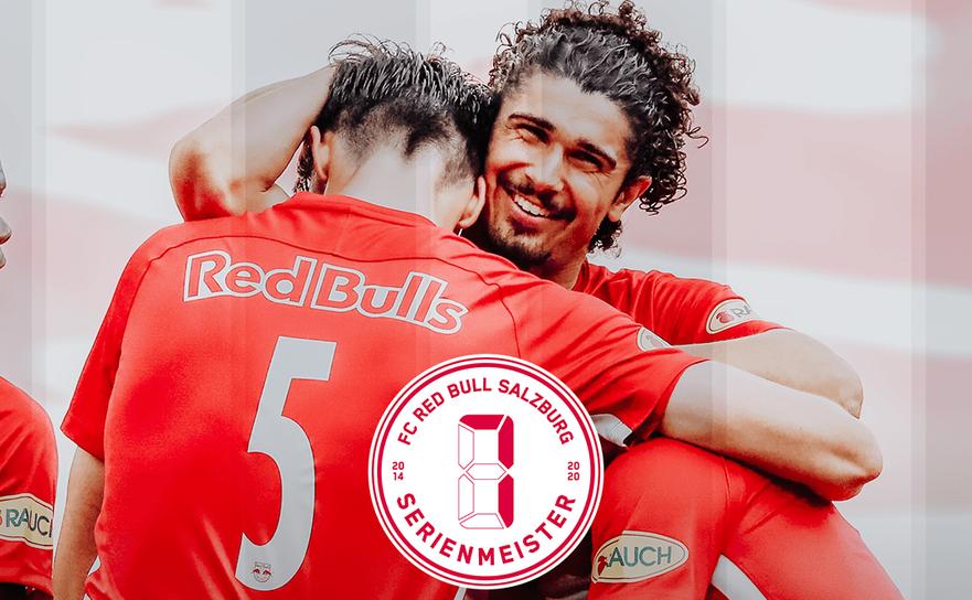 Echipa RB Salzburg este campioană a Austriei la fotbal pentru al şaptelea an consecutiv, după ce a învins pe teren propriu formaţia TSV Hartberg.