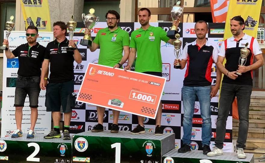 Simone  Tempestini și Sergiu Itu au câștigat pentru al doilea an consecutiv  Raliul Argeşului.