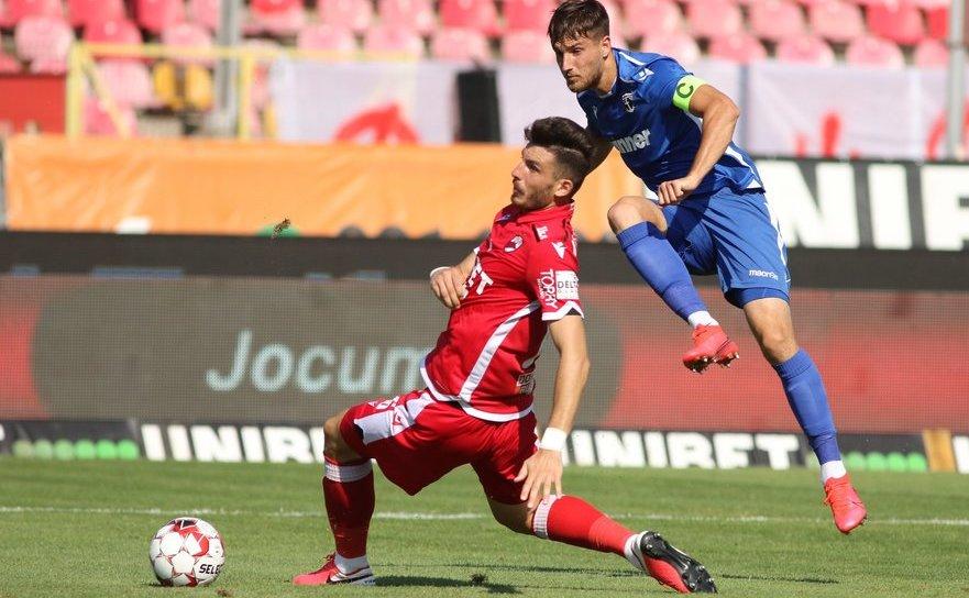 FC Voluntari - FC Dinamo Bucureşti 1-0 (0-0),  duminică, în etapa a şasea a fazei play-out a Ligii I de fotbal.