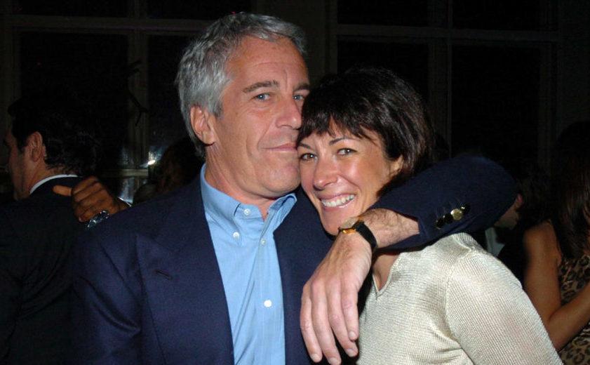 Pedofilul traficant miliardar Jeffrey Epstein împreună cu Ghislaine Maxwell