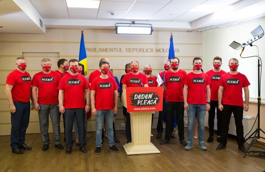 """Grupul Pro Moldova lansează petiţia """"Dodon pleacă!"""""""