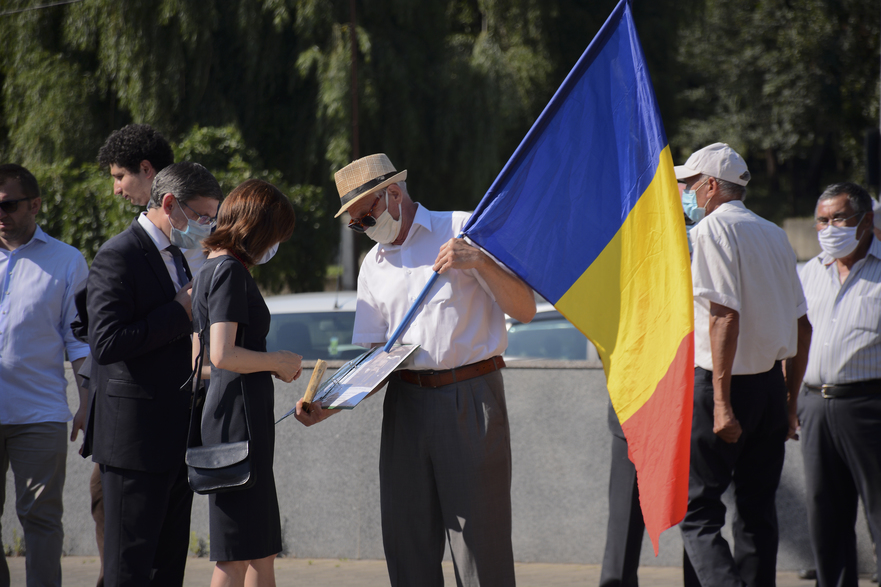 Repr.PAS comemorând victimele deportărilor staliniste