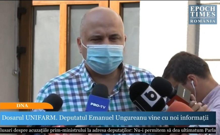Deputatul USR, Emanuel Ungureanu