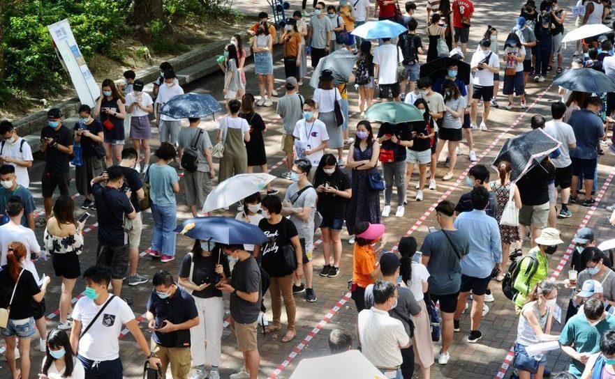Alegeri primare în Hong Kong au înregistrat o prezenţă record