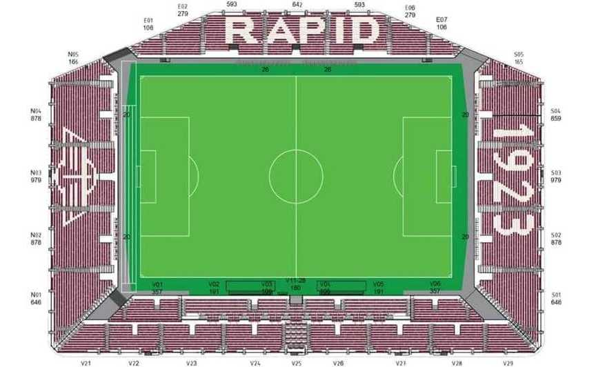 Designul noului stadion din Giuleşti.