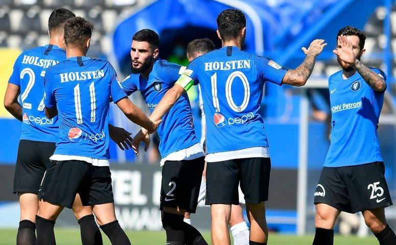 FC Viitorul Constanţa - Chindia Târgovişte 4-1 (1-0), în etapa a 11-a  a  fazei play-out a Ligii I de fotbal.