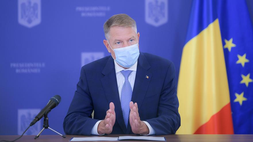 Conferinta de presa sustinuta de Presedintele Romaniei, domnul Klaus Iohannis - presidency.ro
