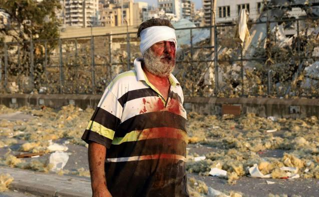 Beirutul zguduit de o explozie masivă, 4 august 2020