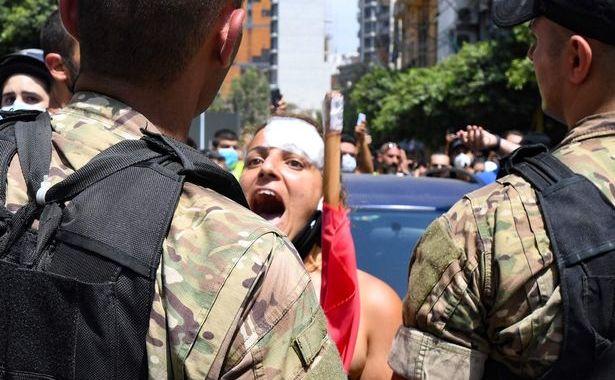 Proteste în Beirut, cerând găsirea vinovaţilor pentru dezastrul din 4 august 2020