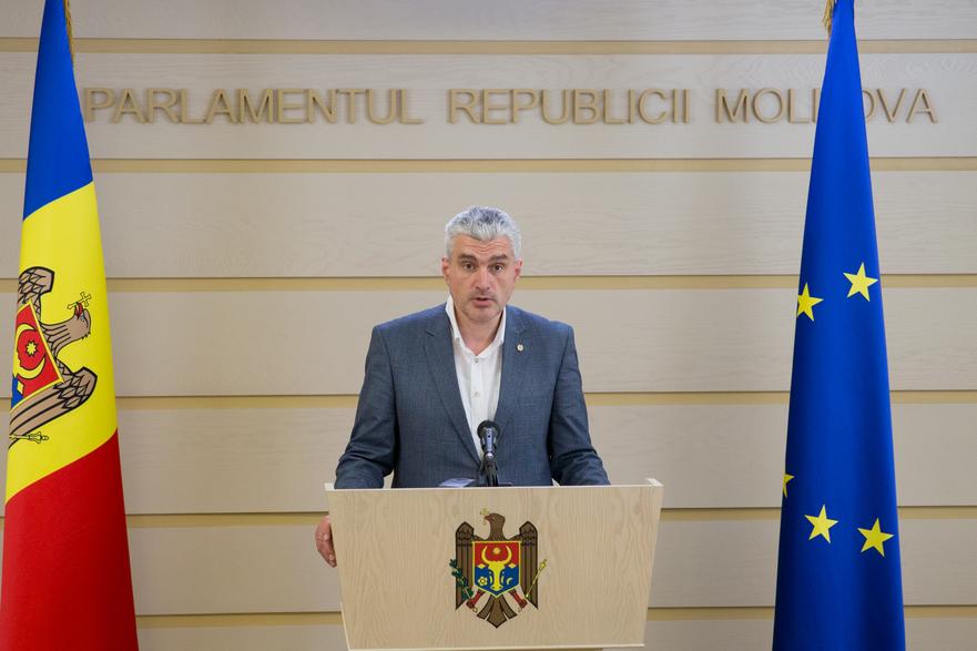 Alexandr Slusari, deputat al Platformei DA în Parlamentul R. Moldova