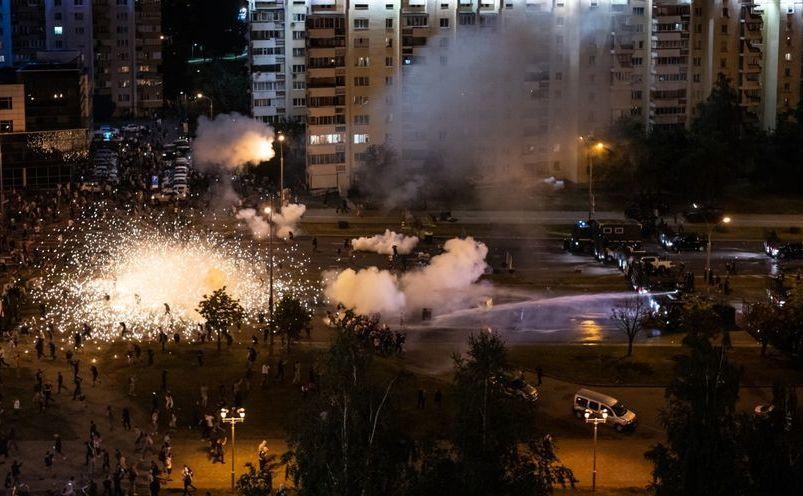 Violenţe post electorale după oresupusa victorie în alegeri a dictatorului Alexander Lukașenko, 10 august 2020