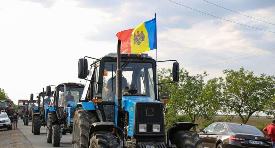 Protestul fermierilor din R. Moldova