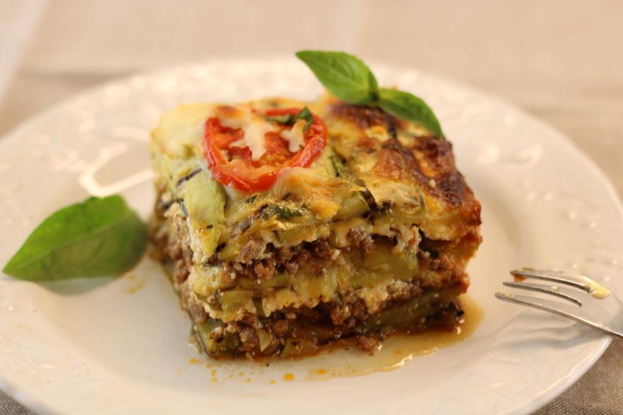 Lasagna cu dovlecei