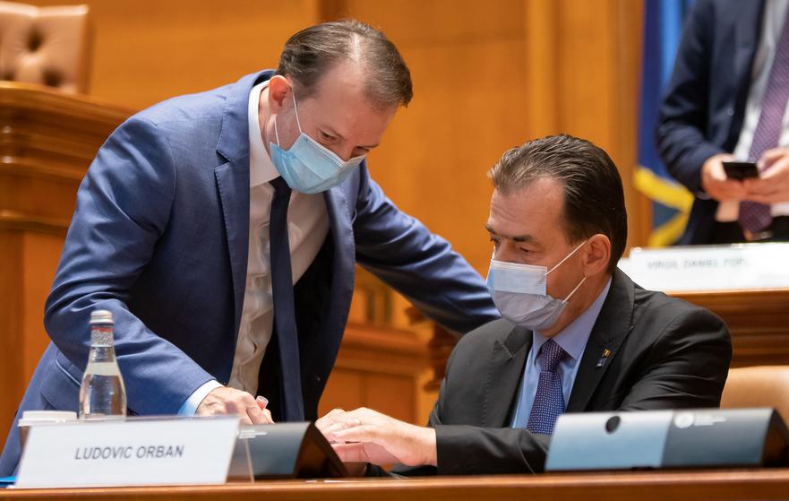 Florin Citu si Ludovic Orban - gov.ro