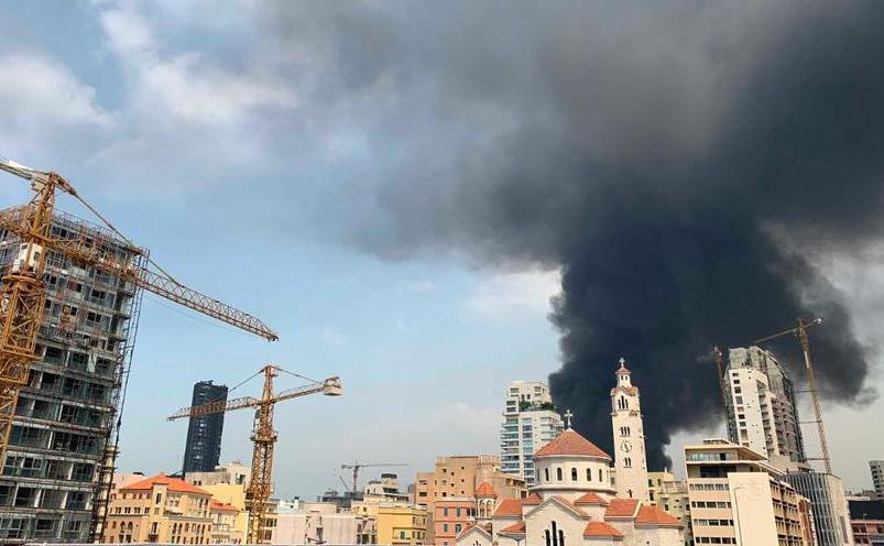 Portul din Beirut zguduit de un nou incendiu