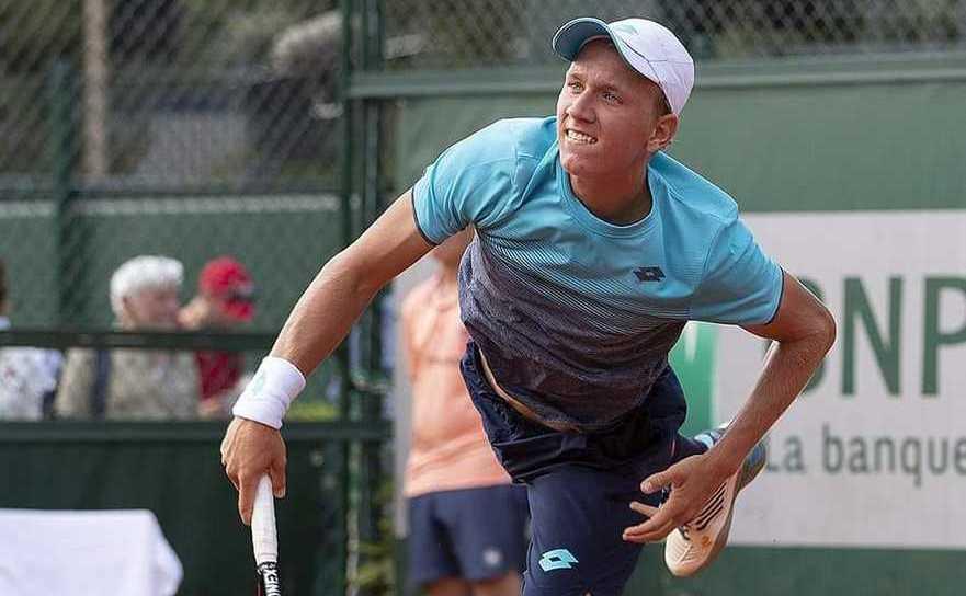 Jucătorul român de tenis Filip Jianu.