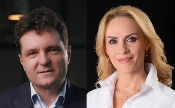 Nicuşor Dan şi Gabriela Firea