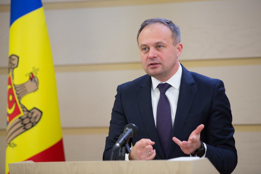 Andrian Candu, preşedintele Pro Moldova