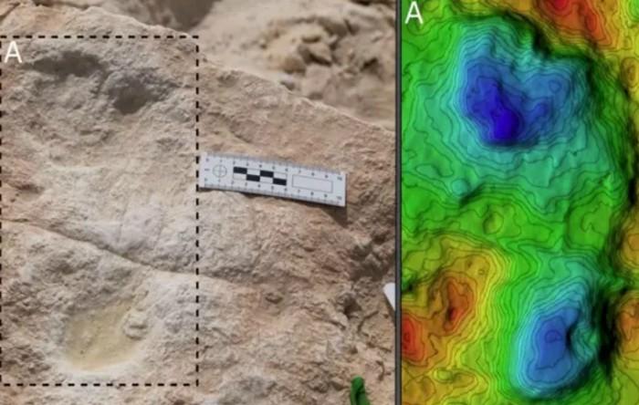 Prima amprentă umană descoperită în Arabia