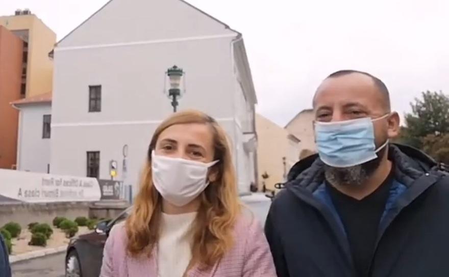 Andreea şi Mircea, din Sălaj, stabiliţi în Franţa, au parcurs 1.900 de kilometri venind cu maşina de la Paris pentru a putea vota la alegerile locale, duminică.