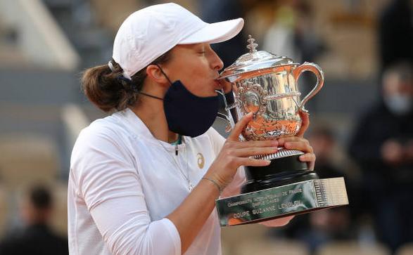 Jucătoarea poloneză de tenis Iga Swiatek.