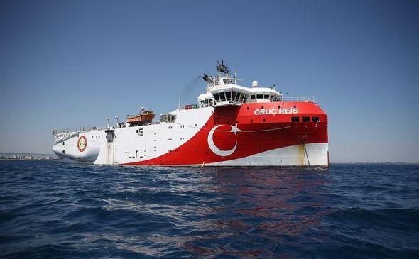 Nava turcă de foraj Oruc Reis