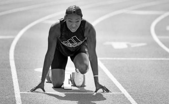 Atleta ivoriană Murielle Ahoure.