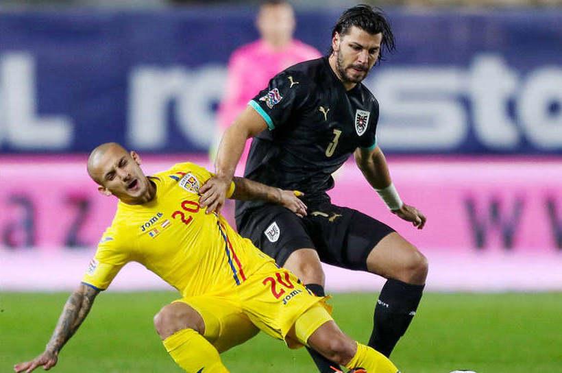 Naţionala României, învinsă acasă de Austria cu 1-0, în Liga Naţiunilor.