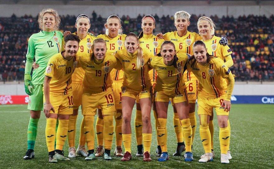 România -  Lituania 4-0 (0-0), partidă din cadrul Grupei H a  preliminariilor EURO 2021 de fotbal feminin.