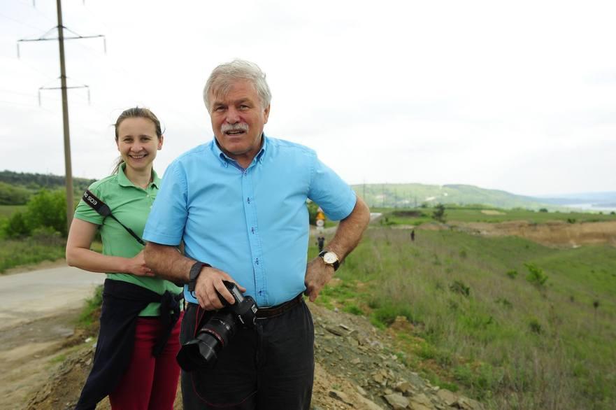 Alecu Reniţă, fost deputat, jurnalist şi preşedinte a Mişcării Ecologiste din RM