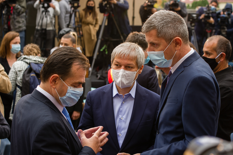 Ludovic Orban, Dacian Ciolos si Dan Barna