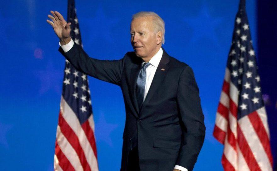 Joe Biden, în dimineaţa zilei de 4 noiembrie 2020