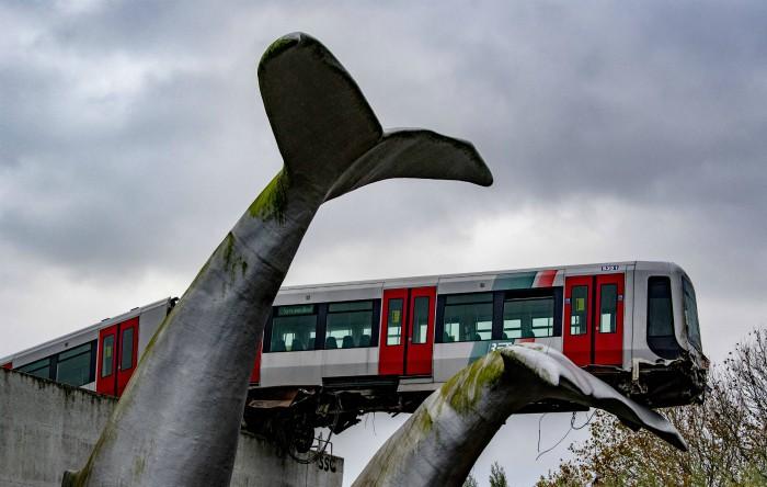 Tren deraiat în Olanda