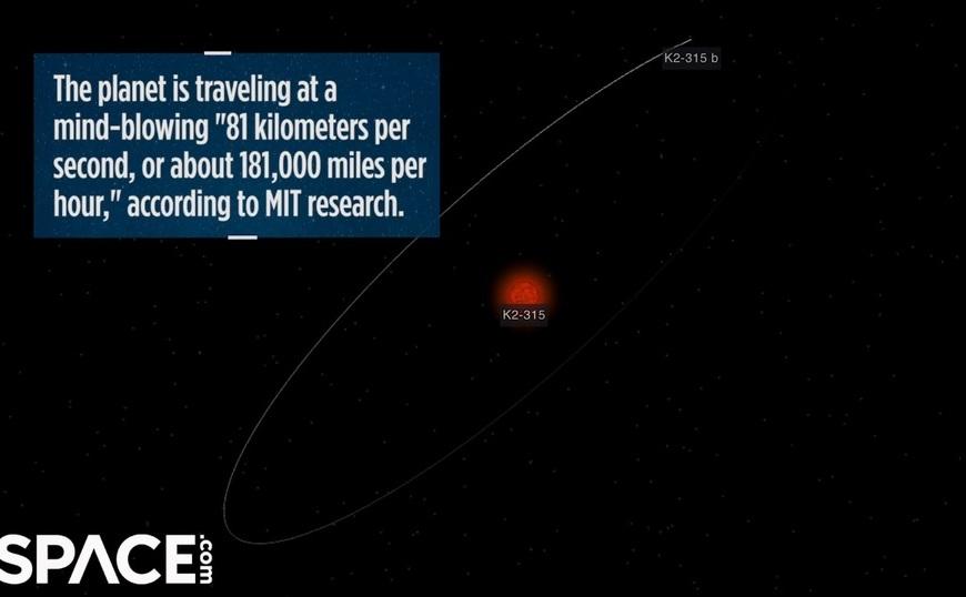 Planeta Pi încheie o orbită completă în jurul stelei sale la fiecare 3,14 zile