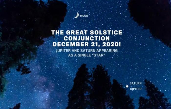 """""""Marea conjuncţie"""" Jupiter-Saturn din 21 decembrie"""